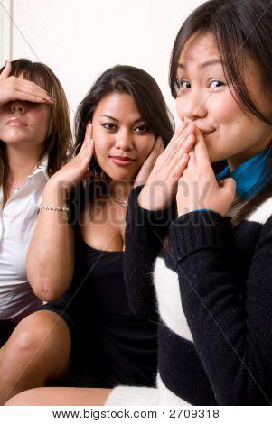 Hear,Speak & See No Evil - People Series