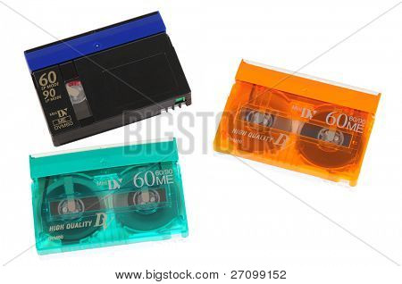 Video tapes. Isolated
