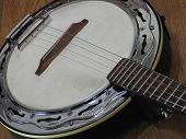 Close-up Of A Brazilian String Musical Instrument: Samba Banjo. It Is Widely Used To Accompany Samba poster