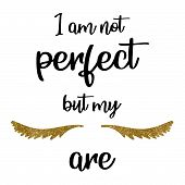 Calligraphy Phrase For Lash Makers.lashes Quote. Calligraphy Phrase For Gift Cards, Decorative Cards poster