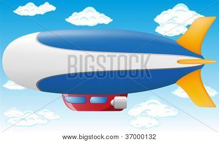 Ilustração do vetor de Zeppelin