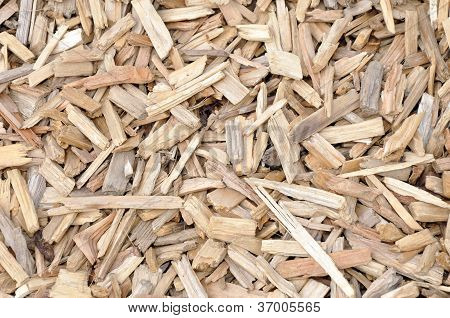 wood chips - background