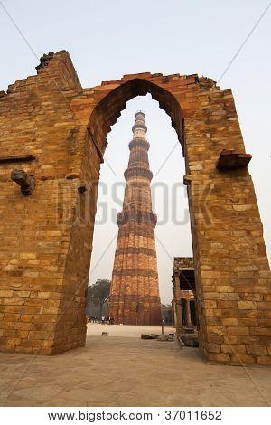 Qutub Minar Tower, Delhi India