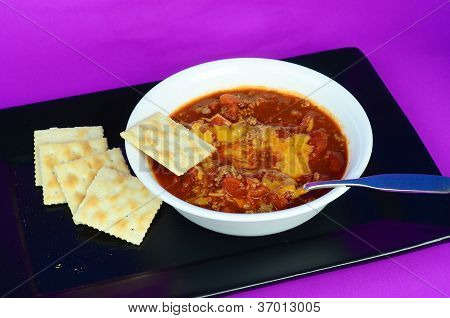 Chili Con Carne And Cheese