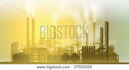 Industrial Chemical Petrochemical Oil and Gas Refinery Plant