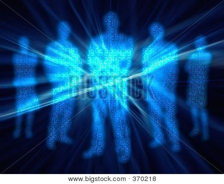 Binary Digit People 1