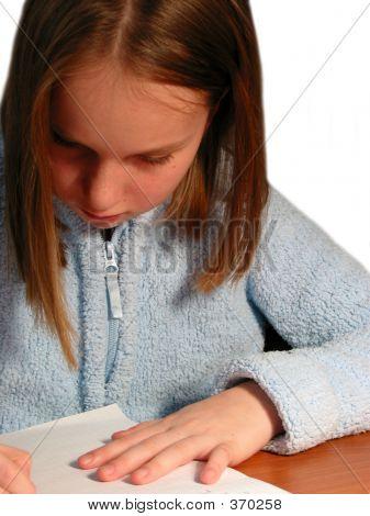 Girl Study Child