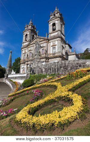 Sanctuary of Bom Jesus do Monte in Braga, north of Portugal