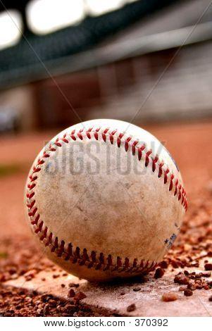 Close-up Baseball