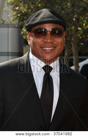 LOS ANGELES - SEP 15:  LL Cool J arrives at the  Primetime Creative Emmys 2012 at Nokia Theater on September 15, 2012 in Los Angeles, CA