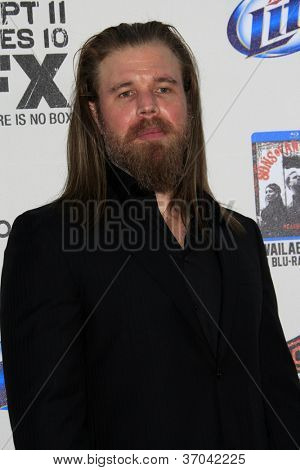 LOS ANGELES - SEP 8:  Ryan Hurst arrives at the