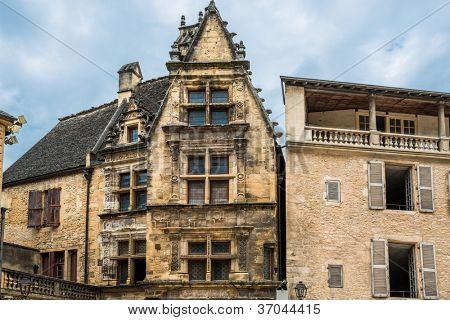 in the beautiful city of sarlat dordogne perigord France