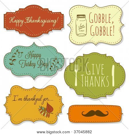 Happy Thanksgiving frames