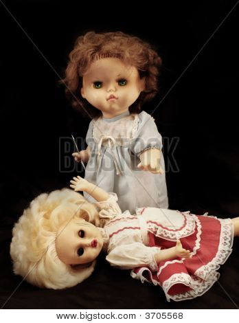 Dark Series. Vintage Killer Doll
