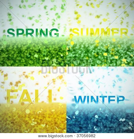 A seasonal word/phrase from a text effect series.