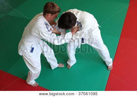 Lucha de Judo.