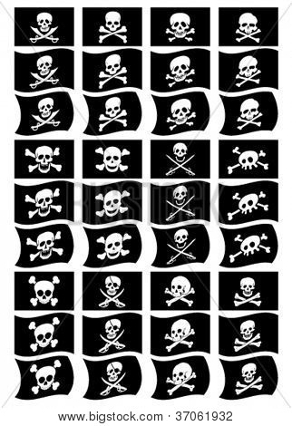 Pirate Flags Collection