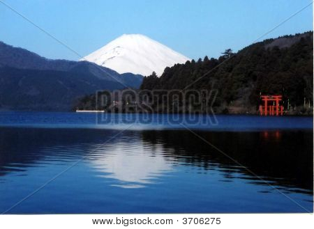 Mt. Fuji From Lake Ashi