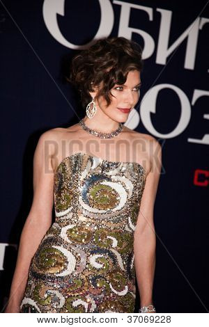 MOSCOW, RUSSIA,SEPTEMBER, 6: Milla Jovovich. Premiere of the movie