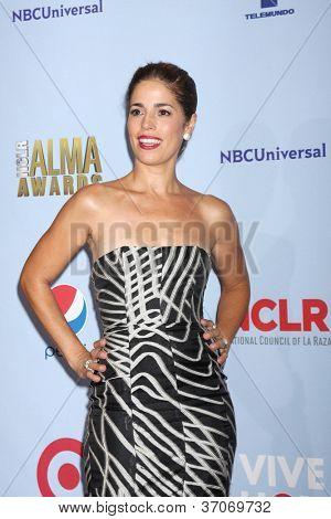 PASADENA - SEP 16: Ana Ortiz in the press room during the 2012 NCLR ALMA Awards at Pasadena Civic Auditorium on September 16, 2012 in Pasadena, California