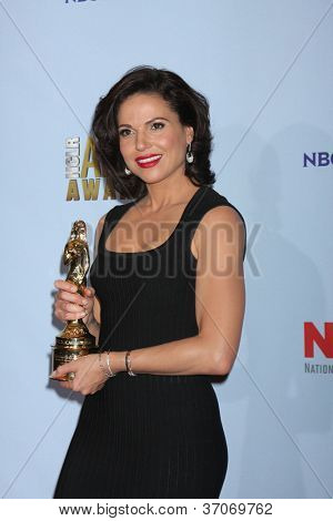 PASADENA - SEP 16: Lana Parrilla in the press room during the 2012 NCLR ALMA Awards at Pasadena Civic Auditorium on September 16, 2012 in Pasadena, California