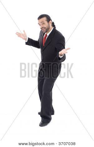Businessman Greetings
