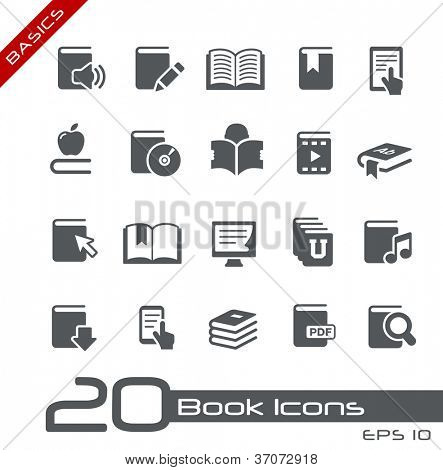 Book Icons // Basics Series