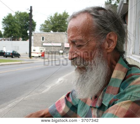 Senior With A Beard