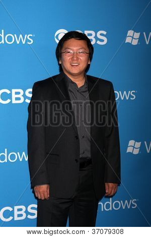 LOS ANGELES - SEP 15:  Masi Oka arrives at the CBS 2012 Fall Premiere Party  at Greystone Manor on September 15, 2012 in Los Angeles, CA