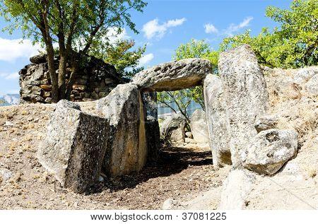 San Martin's tomb, La Rioja, Spain