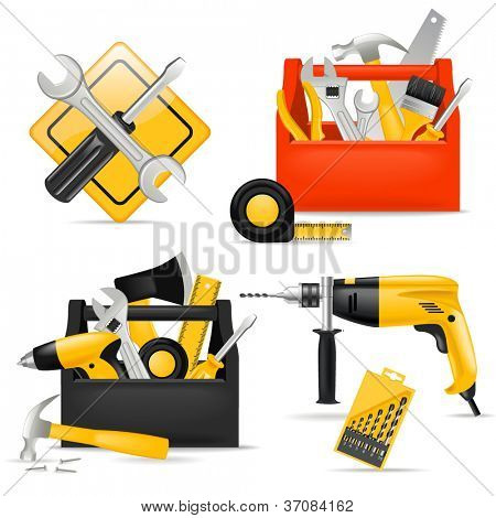 Toolbox and DIY tools