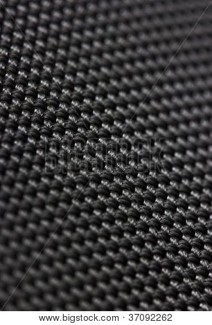 Black background of fibre texture