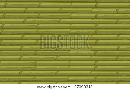 illustration of bamboo stack background on a white