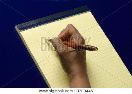 Aufzeichnen von Notizen