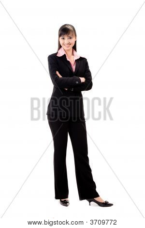 Smiling Female Executive