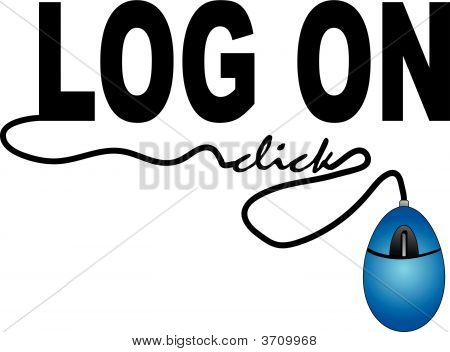Log On With Mouse Click.