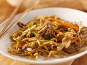 foto of lo mein  - Chinese food  - JPG