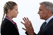 stock photo of hypnotic  - Women hypnotizing men - JPG