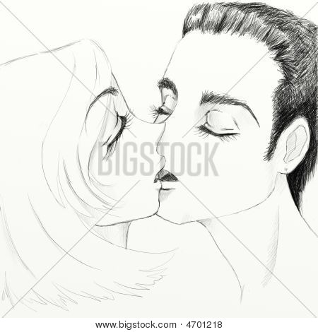 Kiss Boy And Girl