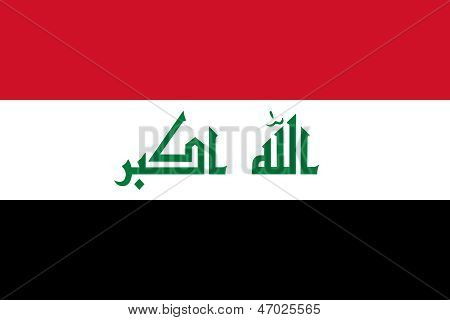 Irak Nationalflagge