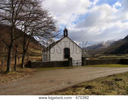 Lonely Scottish Church