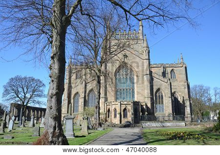 View of Dunfermline Abbey