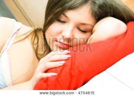 Beautiful Sleeping Woman