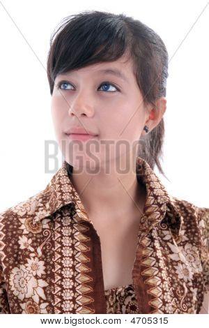 Elagant Young Woman