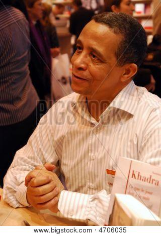 Algerian Fiction Writer Yasmina Khadra