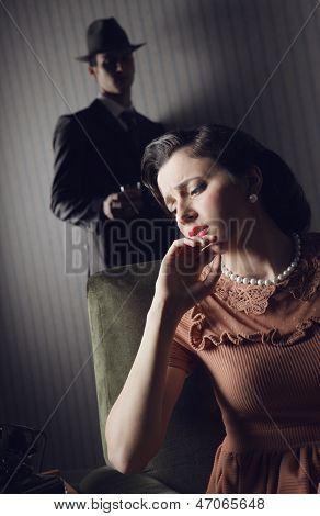 Conflict Between The Man And Woman