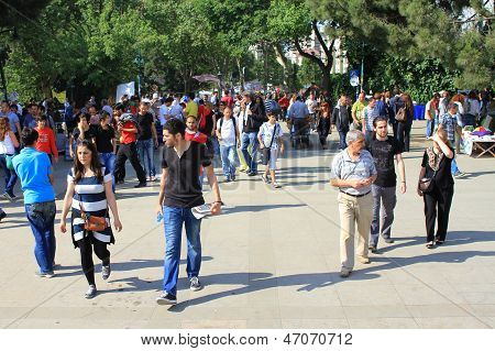 People in Gezipark