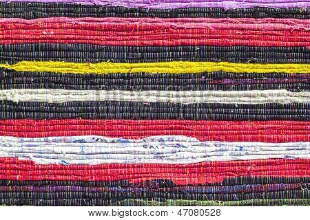 Fabric Colourful Alternation Pattern