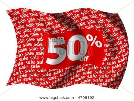 Up To 50% Off Flag