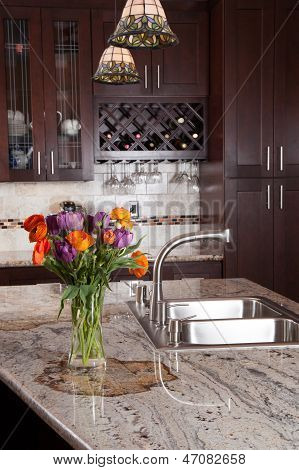 Contemporary Custom Kitchen